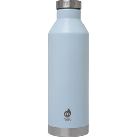 MIZU V8 Drinkfles with Stainless Steel Cap 800ml blauw